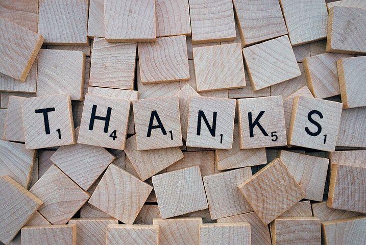 Podziękowanie uczestnikom szkolenia